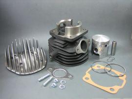 "Cylinder kit ""DR 75ccm"" 6-transfer ports Vespa V50, PK50"