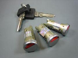 Lock cylinder set 3 locks, lock Vespa PX, T5, PK