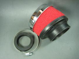 Luftfilter 42 & 58,5mm MALOSSI E13 25° gewinkelt