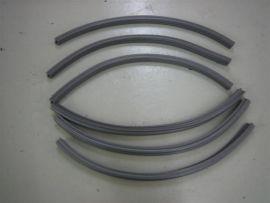 Gummi Trittleisten grau (ital.) Lambretta Serie 1&2