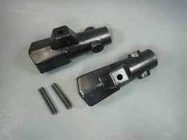 Ständerfüße schwarz (ital.) Lambretta J50-125, Lui, Vega