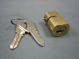 Steering lock retangular (Ital.) Lambretta J50-125