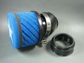 Luftfilter Stage6 klein blau AW=48mm