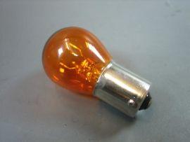 Birne 12V 21W Bau15s S25 orange pins offset Blinker