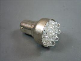 Bulb LED 12V Bay15d 12xLED Bilux white rear light Lambretta Li3, LiS, SX, TV, GP & dl