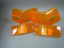Blinkergläser gelb set (4 Stück) Vespa PX