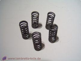 Kupplungsfedern (Satz mit 5 Stück) standard Lambretta