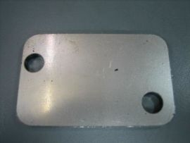 Plate to close inlet 2-hole Vespa PV, V50, PK