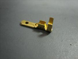 Flachsteckzunge Kabelschuh 2,8x0,8 (0,5-1,0mm²)