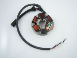 Stator plate ignition 12V 8-cable with battery PIAGGIO Vespa PK