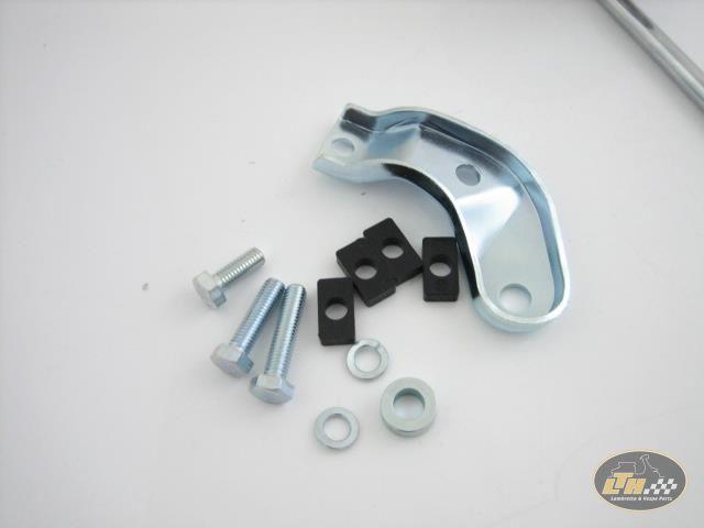 Chrom Li Serie 2 Hupe Lichtschalter /& Befestigungsschrauben für Lambretta