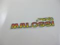 Sticker Malossi 130x32mm
