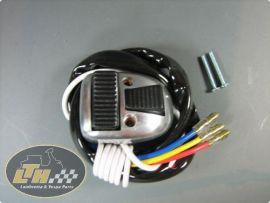 Lichtschalter oval schwarz Lambretta LiS, SX, TV, GP & dl