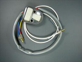 Light switch oval white 2nd choice Lambretta LiS, SX, TV, GP & dl