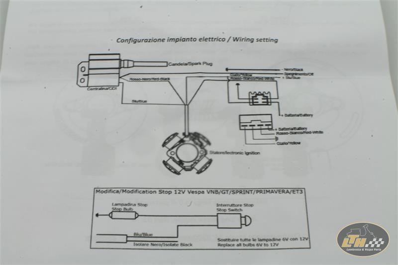 Ignition \pinasco Flytech\ 16kg For Vespa Gs160 Lambretta Teile Rhlambrettateilede: Vespatronic Vespa Wiring Diagram At Gmaili.net