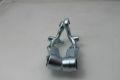 Fork links with shocker mount for drum brake Lambretta...