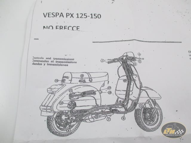 Enjoyable Wiring Loom Without Blinkers Without Battery Vespa Px125 Px150 Old Wiring Database Lotapmagn4X4Andersnl