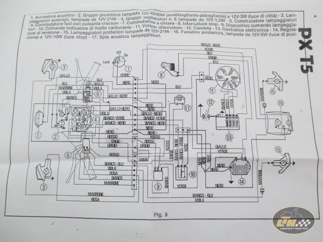 LTH Vespa Pk Wiring Diagram on