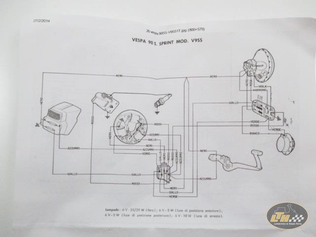LTH Vespa Wiring Diagram on