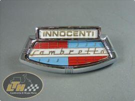 Badge horncast shield Lambretta