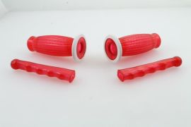 Bubble grips 22mm red