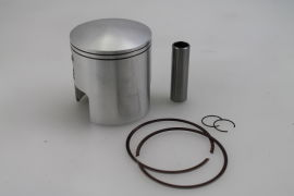 Piston 70mm Wössner forged Kmpr. 30mm 16mm small end pin for Rapido 225cc Lambretta