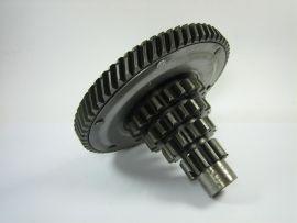 Side shaft with gear sprocket 65 teeth Vespa PX200