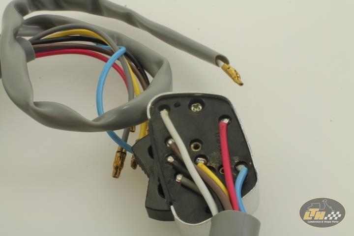 Phenomenal Light Switch Trapezoid 4 Pole Igntion Dc Scootopia Lambretta Li3 Wiring Database Rimengelartorg