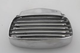 Horn cover grill alloy polished Lambretta GP/dl