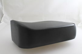 Rear saddle seat cushion black real leather Vespa VNA-VBC, Sprint, Rally, PX