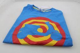 "T-shirt ""Piaggio"" Vespa Target Blue Royal size:L"