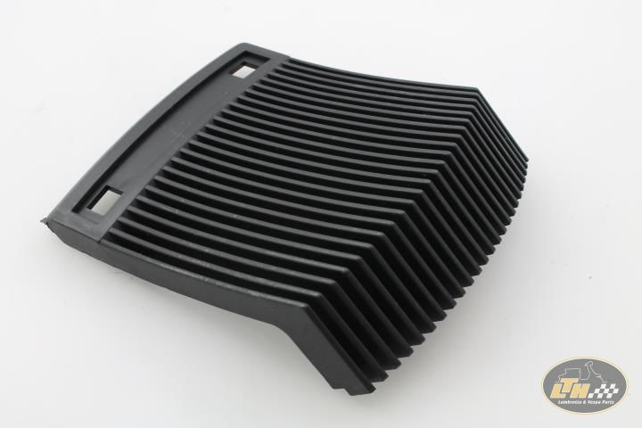NEW VESPA T5 HORN GRILL BLACK PLASTIC