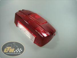 Rear light glass angular Lambretta Li2&3
