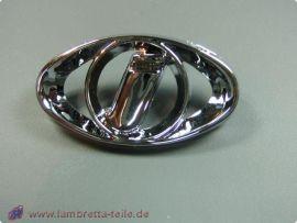 """Kaskadeneinsatz """"I"""" metall Lambretta GP/dl"""