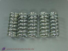 """Clutch springs strenghtened """"LTH"""" hardness=""""L"""" (5 pcs.) Lambretta Li1, Li2, Li3, LiS, SX, TV, GP & dl"""