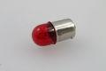 Bulb 12V 10W Ba15s red