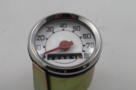 Speedometer 80km/h white without Logo for Vespa V50