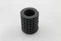 Gummi Kickstarter rund geriffelt schwarz Vespa Sprint