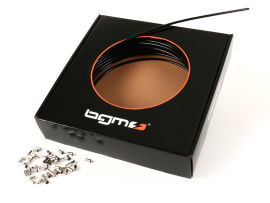 Außenhülle -BGM ORIGINAL, PE Innenhülle- Ø außen = 6mm (l=25 Meter) - Schwarz