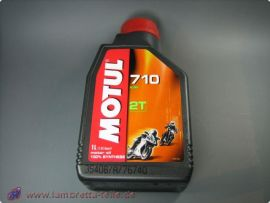 Engine oil 2 stroke Motul 710 ester fully synthetic 1l