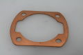 Base gasket 1.0mm spacer brass VMC Vespa V50, PV, PK