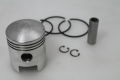 Piston 57.4mm 16mm piston pin Lambretta D150, LD150