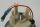 Tachometer 120 km/h schwarzer Ring Vespa PK S