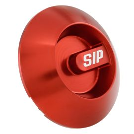 Abdeckung Variodeckel, SIP  SERIES PORDOI  für Vespa ET4/LX/LXV/S/GTS/GTS Super/GTV/GT 60/GT/GT L 125 -300ccm  Aluminium CNC, rot eloxiert, mit Steg,  als Accessoire - sehr schön