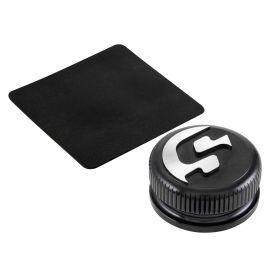 Tankdeckel SIP SERIES PORDOI  für Vespa ET2/ET4/LX/LXV/S /Primavera/Sprint/946/GTS /GTS Super/GTV/GT 60/GT/GT L 50-300ccm 2T/4T passt auch  für APRILIA/DERBI/GILERA /PIAGGIO  Aluminium CNC, schwarz eloxiert,magnetisch,  als Accessoire - sehr schön