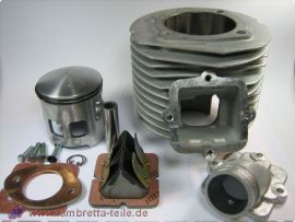 Zylinderkit 225ccm TS-1 (ohne Zylinderkopf) Lambretta SX200, GP200