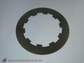 """Steel plate clutch """"thin"""" 1mm Lambretta"""