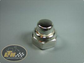 Nut M16 shocker & engine bolt chrome Lambretta