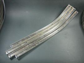 Trittleisten Metallschienen (Satz) Lambretta
