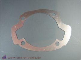 Cylinder base gasket 200ccm alloy 1.0mm Lambretta Li1, Li2, Li3, LiS, SX, TV, GP/dl